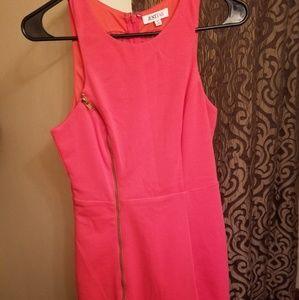 Just Fab zipper dress